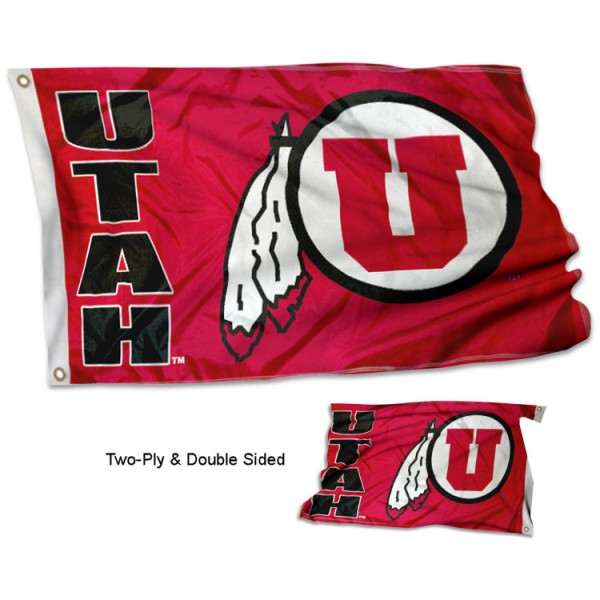University of Utah Flag - Stadium