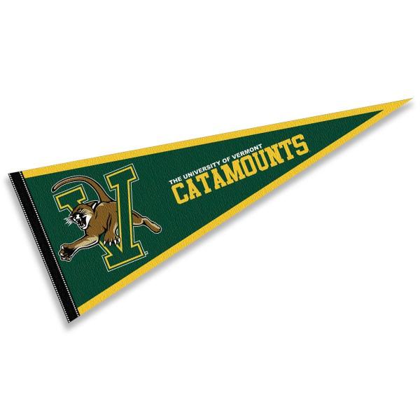 University of Vermont Catamounts Pennant