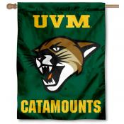University of Vermont UVM Logo House Flag