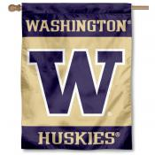 University of Washington W House Flag