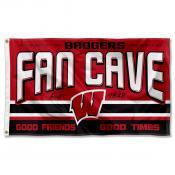University of Wisconsin Badgers Man Cave Dorm Room 3x5 Banner Flag
