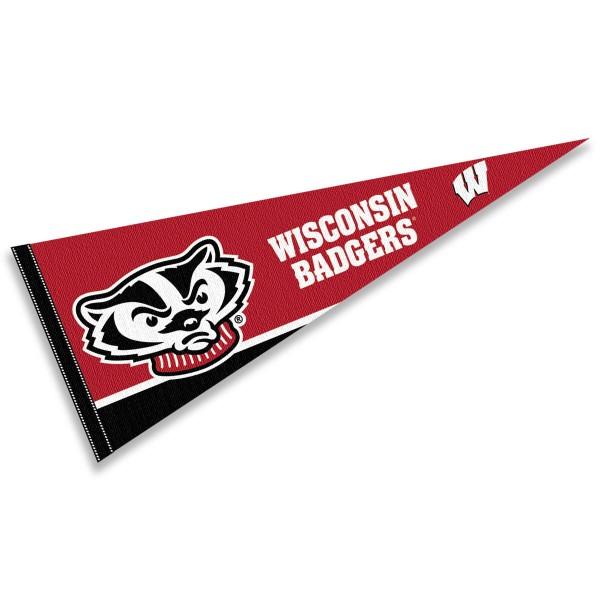 University of Wisconsin Badgers Pennant