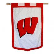 University of Wisconsin Banner Flag - Motion W