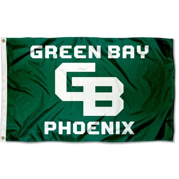 University of Wisconsin-Green Bay 3x5 Foot Grommet Flag