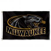 University of Wisconsin Milwaukee Panthers Banner Flag