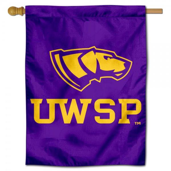 University of Wisconsin Stevens Point House Flag