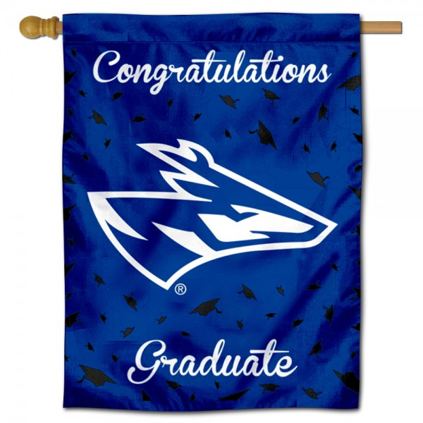 UNK Lopers Graduation Banner