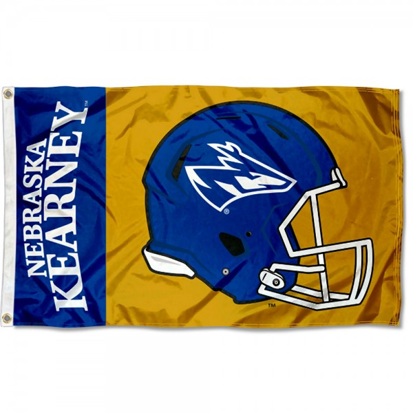 UNK Lopers Helmet Flag