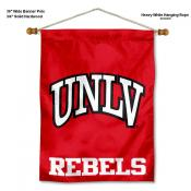 UNLV Banner with Pole