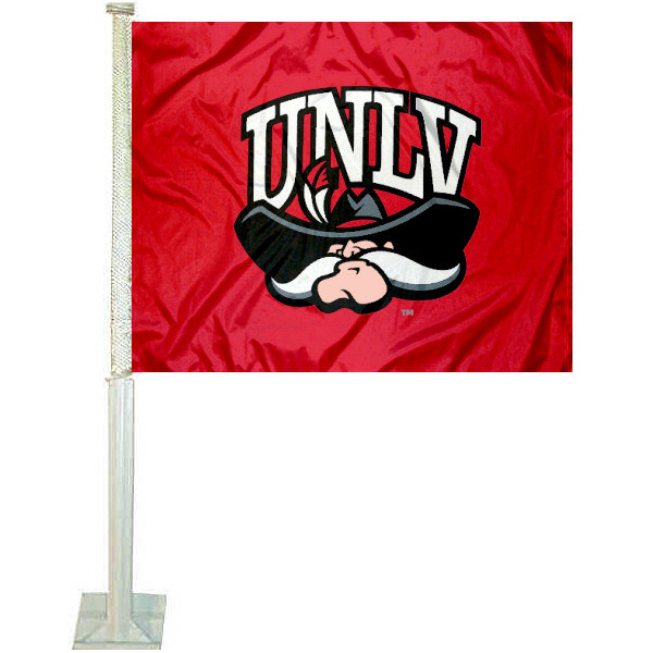 UNLV Runnin Rebels Car Flag