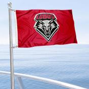 UNM Lobos Boat Flag