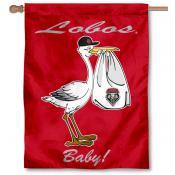 UNM Lobos New Baby Banner