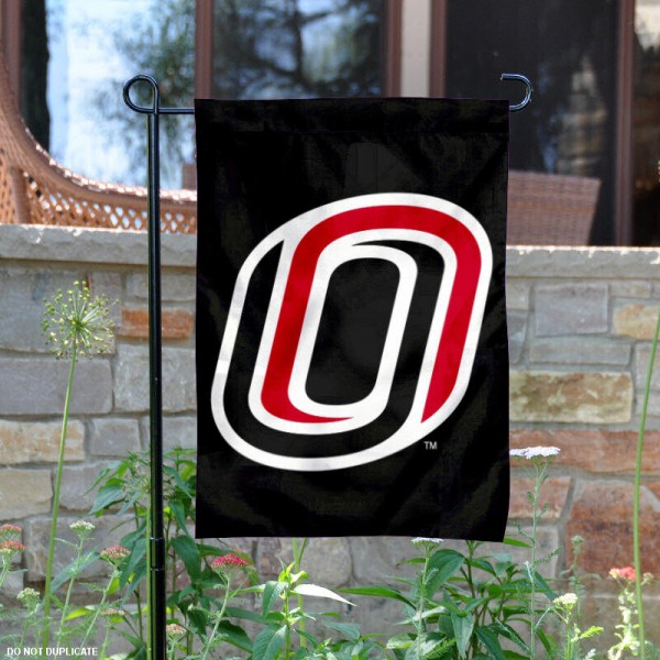 UNO Mavericks Black Garden Banner