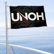 UNOH Racers Boat Nautical Flag