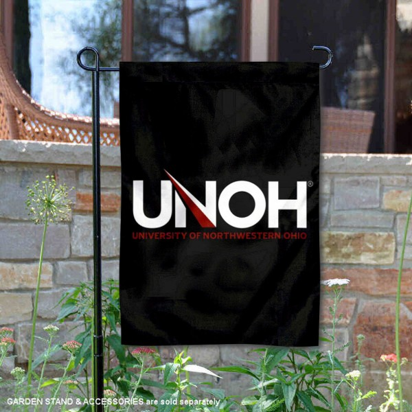 UNOH Racers Double Sided Garden Flag