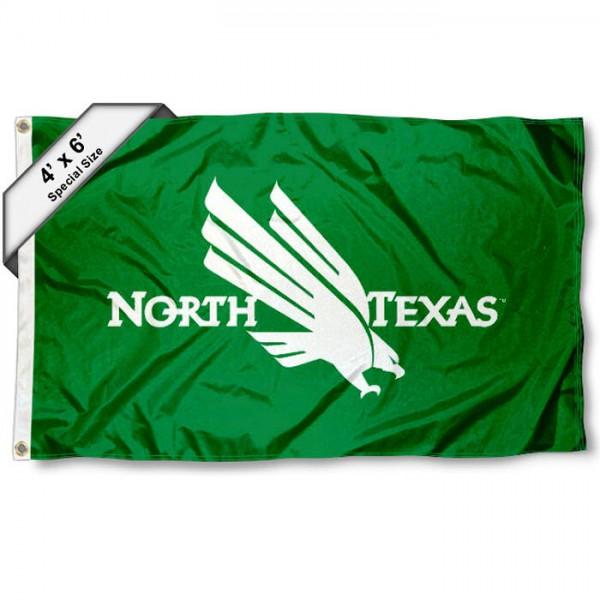 UNT Mean Green 4'x6' Flag