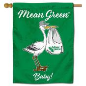 UNT Mean Green New Baby Banner
