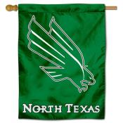 UNT Mean Green Polyester House Flag