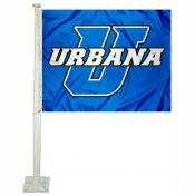 Urbana Blue Knights Car Flag