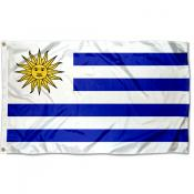 Uruguay Country 3x5 Polyester Flag