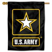 US Army Star Logo Banner Flag