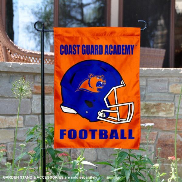 US Coast Guard Football Garden Flag