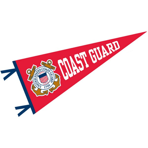 US Coast Guard Wool Pennant