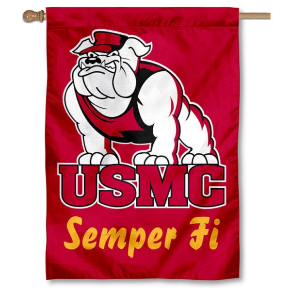 US Marines Semper Fi Logo House Flag
