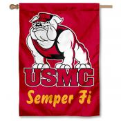 US Marines Semper Fi Logo House Flag