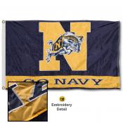 US Navy Midshipmen Appliqued Nylon Flag