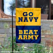 US Navy Midshipmen Beat Army Garden Flag