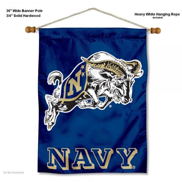 US Navy Midshipmen Wall Hanging