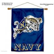 US Navy Midshipmen Wall Hanging