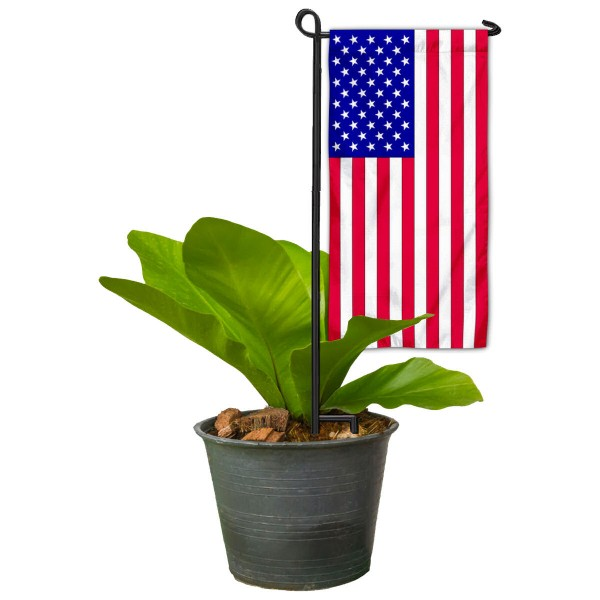 USA Flag Mini Garden Flag and Table Topper