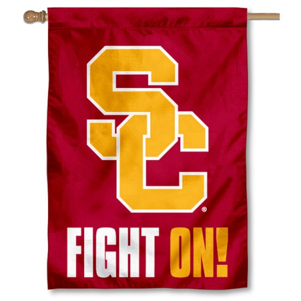 Usc Fight On House Flag Your Usc Fight On House Flag Flag