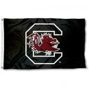 USC Gamecocks Black Flag