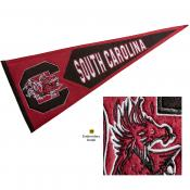 USC Gamecocks Embroidered Wool Pennant
