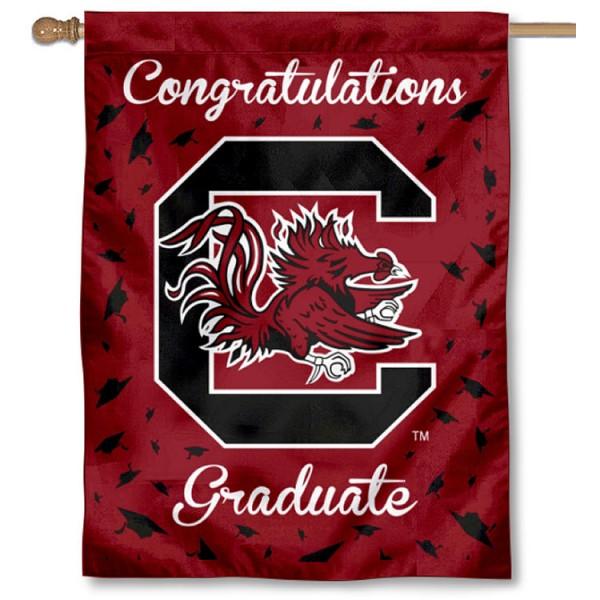 USC Gamecocks Graduation Banner