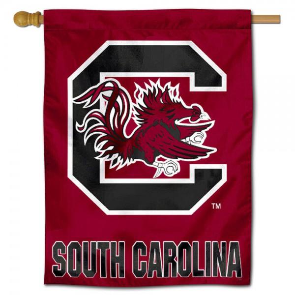 USC Gamecocks Polyester House Flag