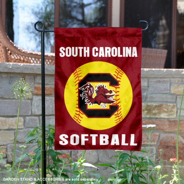 USC Gamecocks Softball Garden Flag