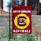 USC Gamecocks Softball Garden Flag