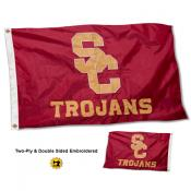 USC Trojans Double Sided Nylon Flag
