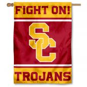 USC Trojans FIGHT ON House Flag