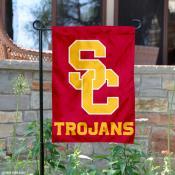USC Trojans SC Garden Flag