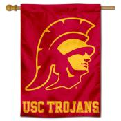 USC Trojans Trojan Head House Flag