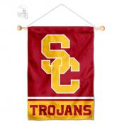 USC Trojans Window Hanging Banner with Suction Cup