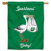 USC Upstate Spartans New Baby Banner