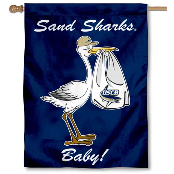 USCB Sand Sharks New Baby Banner