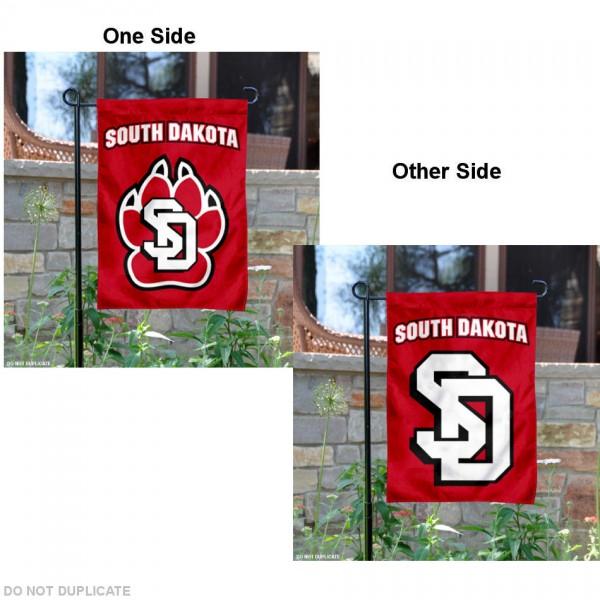 USD Coyotes Garden Flag