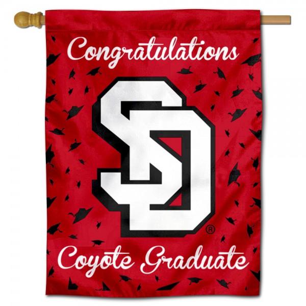 USD Coyotes Graduation Banner
